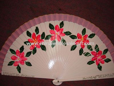 Wooden Spanish Fan