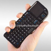 2.4G Ultra Mini Wireless Keyboard with Touchpad images
