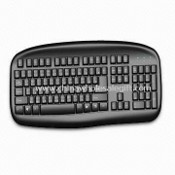 Ergonomic Designed Standard Keyboard images