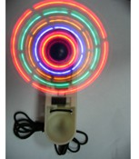Foldable LED Mini Fan with Lanyard images