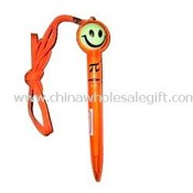 Smiling Face Hang Rope Pen images