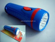 Rechargeable Plastic LED Flashlight images