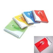 PP Cover Spiral Notebook with Pen images