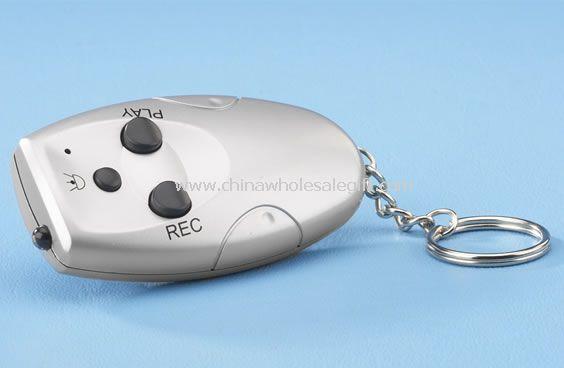 Presentes de chaveiro de gravador digital de voz
