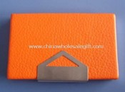 Leather Business Card Holder images