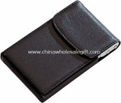 PU leather business card holder images