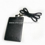 Badge Holder with PU Leather Strap images