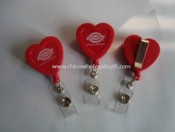 Heart Shape Badge Reel images