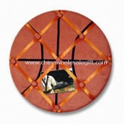 Fabric Memo Board with Basketball Shape images