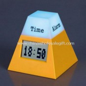 ABS Clock with 7-color Flashing Light images