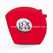 Plastic LCD Talking Time Clock images