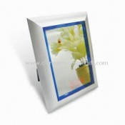 Square Sensor Mirror Clock with LED images