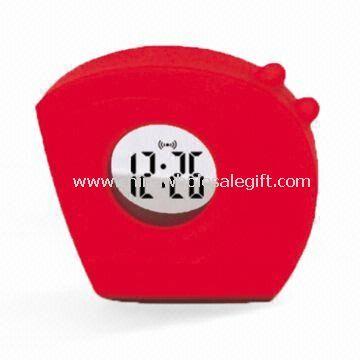 Plastic LCD Talking Time Clock