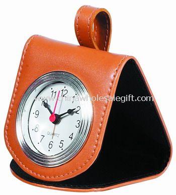 Leather Pocket Clock