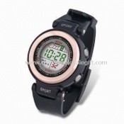 PVC Resin Strap Sports Watch images