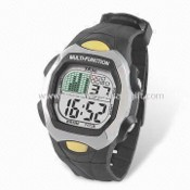 TPU Resin Strap LCD Multifunction Watch images