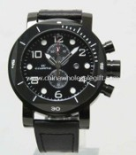Genuine Leather Chronograph Watch images