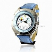 Moon Phase Watch with 10 ATM Water Resistance images