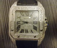 Luxury Diamond Man Watch images