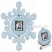 1.5 inch Digital Photo Frame Snow Flake Design for Christmas images