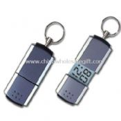 Key Chain with Mini LCD Calendar Clock images