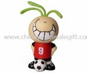 Football Boy Cartoon USB Flash Drive images