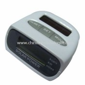 Solar Power Operated Pedometer images