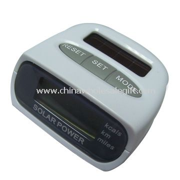 Solar Power Operated Pedometer