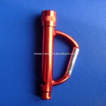 LED Flash Light Carabiner with Whistle images