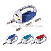 Mini Tool Sets With LED Light And Carabiner images