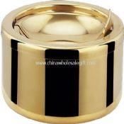 Golden Stainless Steel Ashtray images