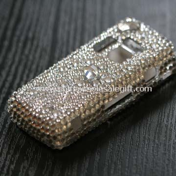 Crystal Sticker Case For Blackberry