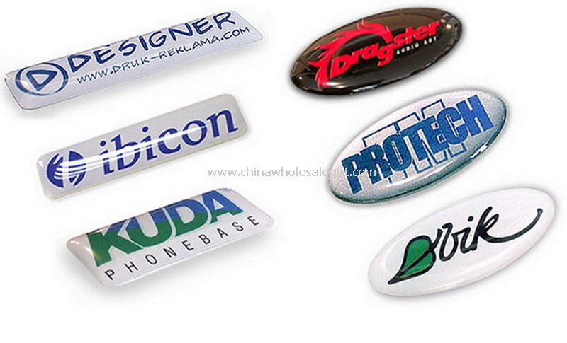 Epoxy Domed Sticker