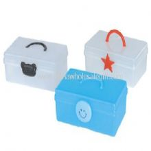 Plastic Lunch Box with Handle images