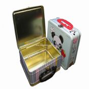 Lunch Box with Plastic Handle images