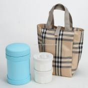 Vacuum Lunch Box with Pouch images