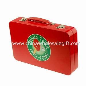 Metal Tin Lunch Box