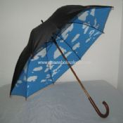 Blue Sky White Clouds Golf Umbrella images