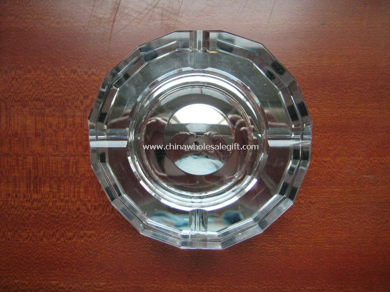 Crystal Glass Ashtray Crafts
