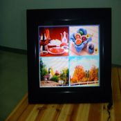15 inch Wood Digital Picture Frame with Amlogic Solution images