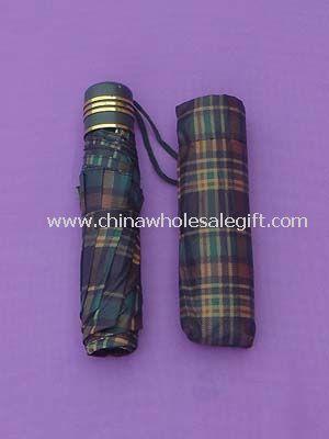 3 Fold Mini Umbrella with Manual Open