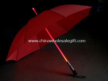 Flashlight handle LED Umbrella