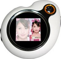 1.5 Inch Mini Digital Photo Frame with MP3