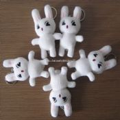 Plush Animal Toy-Rabbit Keychain images