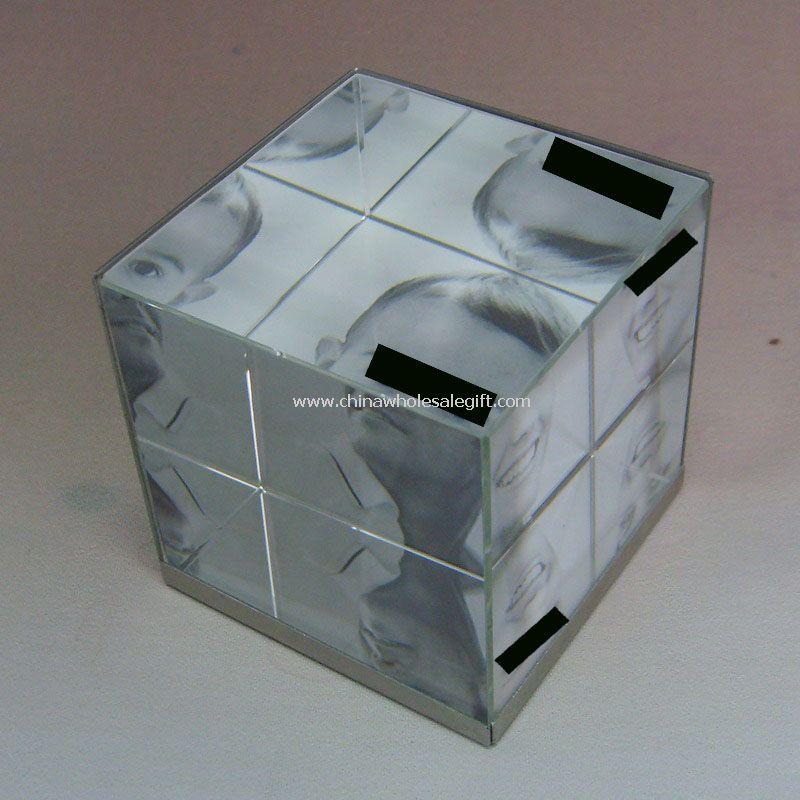 Crystal 3D Photo Frame