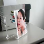 Clear Acrylic Photo Frame with Magnet images
