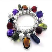 Acrylic Colored Bead Bracelet images