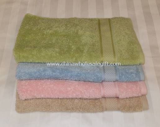Hotel Towel With Sateen and Embroidery Logo