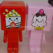 Plastic Coin Bank images