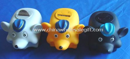Mouse Voice and LED Money Coin Bank